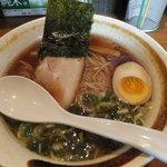麺家 徳 - 和風魚介醤油ラーメン\650