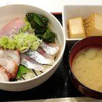 きくのこ - きくのこ @有楽町 ランチ 海鮮丼 税込500円