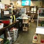 きくのこ - きくのこ @有楽町 立呑みの店内