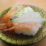 大漁丸 - 海老4種