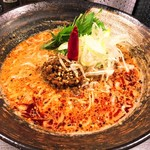 香氣 四川麺条 - 紅(くれない)担担麺(790円)