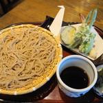 竹りん - 料理写真:天ざる蕎麦・冷(1850円)
