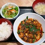 98037540 - 麻婆豆腐定食 ¥750