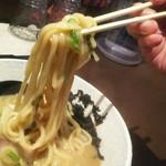中華そば 響 - 黄金の太麺やで