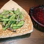 Enzou - 茶豆の炙り焼き 486円