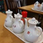 飲茶キッチン FengLong豊龍 - 卓上調味料