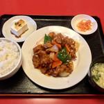 帰郷 - ランチ・酢豚定食
