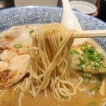 麺匠 黒春晴 - 2018年12月 麺持ち上げ