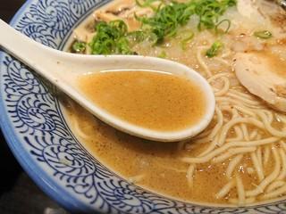 麺匠 黒春晴 - 2018年12月 スープ