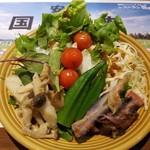 レストランあみやき亭 - サラダバーのサラダ
