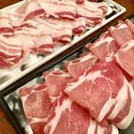 豚しゃぶ ひなた - お肉