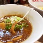 98046545 - ホルモンつけ麺(スープアップ)