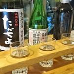 98047314 - ◆日本酒 3種のみ比べ 1000円