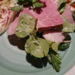 Tapasuebaru - ブランド豚のハムのサラダ☆美味しすぎ☆