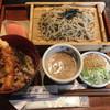 自助工房 四季の里 - 料理写真:「胡麻胡桃たれざる・ミニ天丼付き」