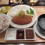 98048921 - 牛カツ定食
