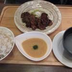牛たん料理 大黒や - 牛カルビ定食+とろろ