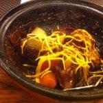 9805005 - 根菜と豚の甘辛煮
