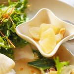 さらさ西陣 - 塩豚と白菜の中華煮込み