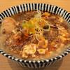 さんしょの木 - 料理写真:背脂マーボー麺950円、味玉サービス。