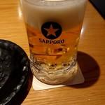 98053545 - 生ビール(黒ラベル)630円