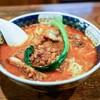 支那麺 はしご - 料理写真:■排骨担々麺(ぱいこうだんだんめん)1000円