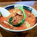 支那麺 はしご - ■排骨担々麺(ぱいこうだんだんめん)1000円
