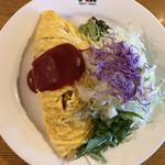ミルキーウェイブ - 料理写真:オムライス  750円