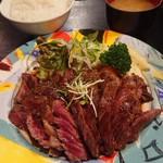 98057037 - ワンポンドステーキ定食