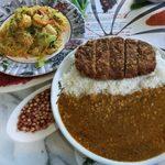 インドレストラン アラジン - 「カツカレー」850円+「インディアン」490円