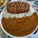インドレストラン アラジン - 「カツカレー」850円