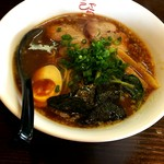 らーめん 伽羅 - 料理写真:正油ラーメン¥670