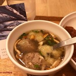 スープストックトーキョー - さんまのつみれスープ