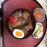 キンタ - 焼肉丼(味噌汁なしで-¥50)