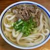 三井うどん - 料理写真:肉うどん 470円