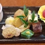 いっしん - 料理写真:蓮根まんじゅう   1,400円 前菜