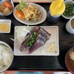 黒潮一番館 - タタキ定食