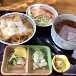 辰吉 - 料理写真:ミニかつ丼セット 800円
