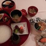 石塀小路 朝粥と出し茶漬け KOI-KOI - 朝粥膳
