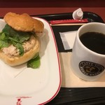 カフェ・ベローチェ  - モーニングセットA