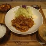 Butanikusemmontentonkatsunori - 豚の生姜焼きランチ