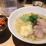 本丸亭 - 本丸塩らー麺&ミニまんま飯