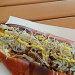 納豆DOG - しらす納豆ドック   アップ