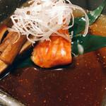 東鮨 新店 - 金目鯛煮つけ