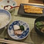 鈴の音 - 料理写真:蒲焼ご飯ハーフ