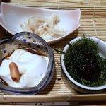 金魚すさび - ◆前菜三種盛