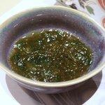 金魚すさび - ◆島もずくの酢の物