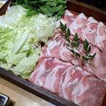 9809829 - ◆やんばる島豚あぐーのしゃぶしゃぶ鍋