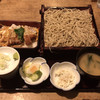上の家 鶴岡 - 料理写真:そば付きかつ丼 そば大盛り 1,150円+130円
