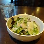 トノー - セットのサラダ